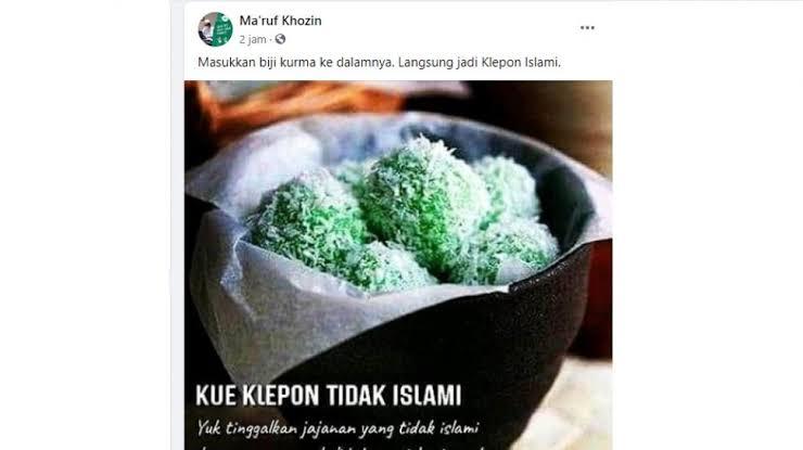 Ulama minta jangan terprovokasi soal Klepon tidak Islami